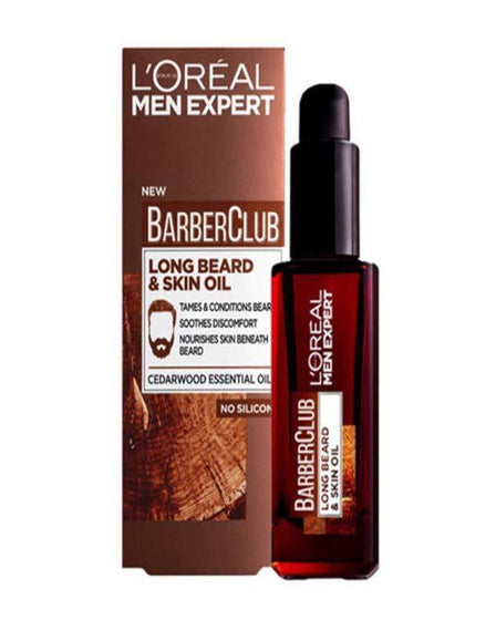 L'ORÉAL Paris Men Expert Barber Club Long Beard & Skin Oil 30ml