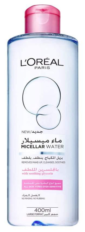 L'ORÉAL Paris Micellar Cleansing Water 400ml - zapple.pk