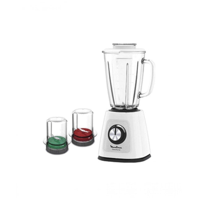 Moulinex Blender with Grinder - LM-438127 - zapple.pk