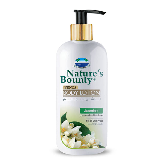 Nature's Bounty Venos Jasmine Body Lotion - 500ml - zapple.pk