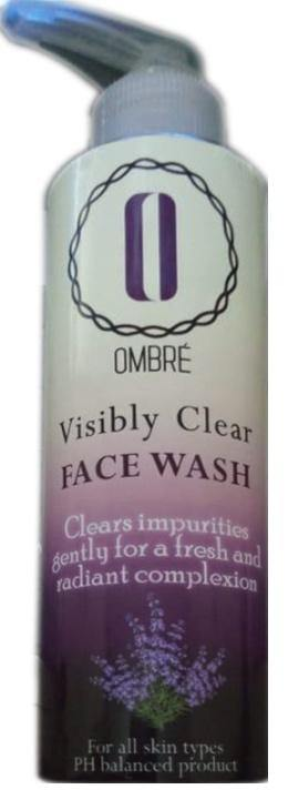Ombre Visibly Clear Facewash For ALL Skin Types - zapple.pk