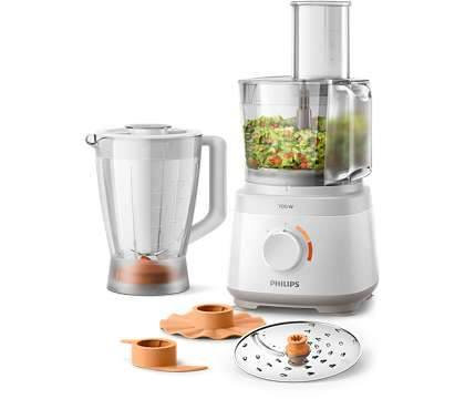 Philips Daily Collection Compact Food Processor - HR7320-00 - zapple.pk