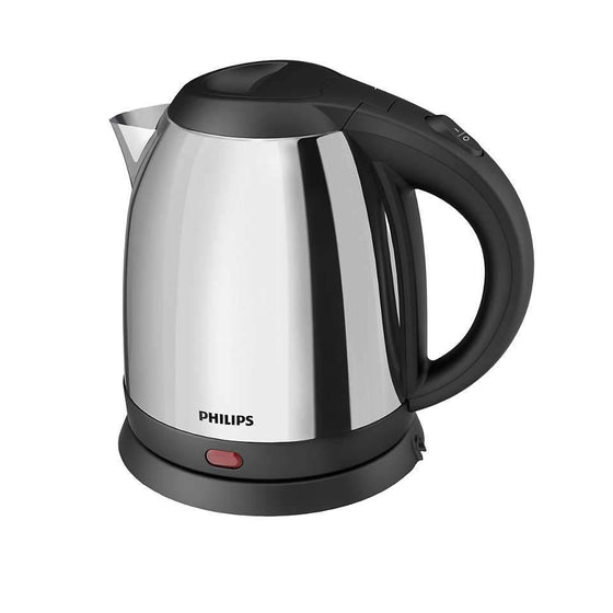 Philips Electric Kettle Silver & Black - HD9303-03 - zapple.pk