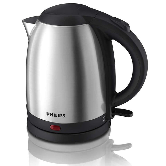 Philips Electric Kettle Silver & Black - HD9306-03 - zapple.pk