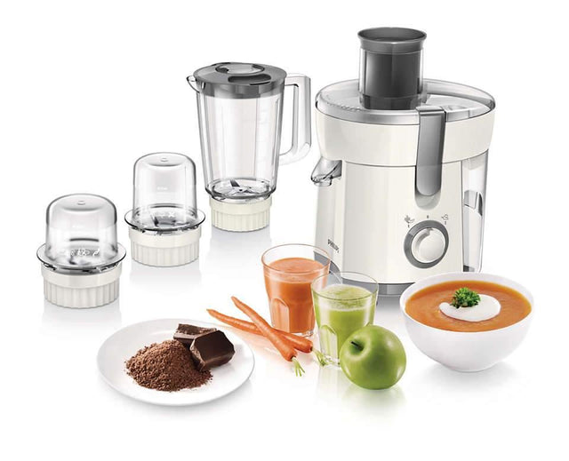 Philips 4 in 1 Juicer, Blender, Grinder and Chopper - HR1847-00 - zapple.pk
