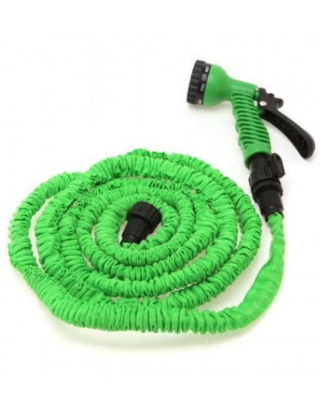 Magic Hose Water Pipe For Garden & Car Wash - 75ft - Green - zapple.pk