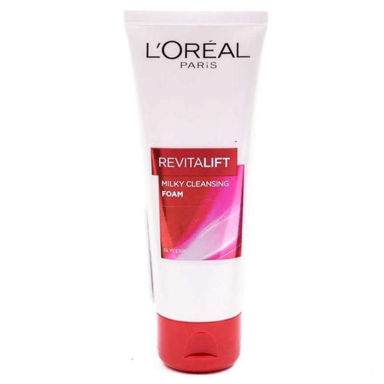 L'ORÉAL Paris Revitalift Milky Cleansing Foam Gel Facewash 100ml - zapple.pk