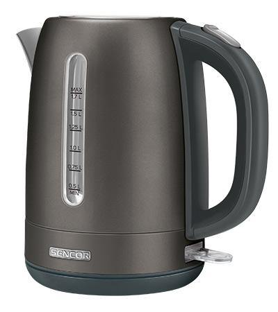 Sencor Stainless Electric Kettle - SWK1778BK - zapple.pk