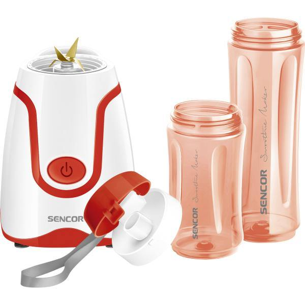 Sencor Smoothie Maker Blender Red - SBL2214RD - zapple.pk