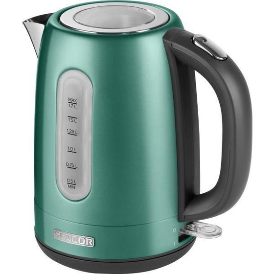 Sencor Stainless Electric Kettle - SWK1771GR - zapple.pk