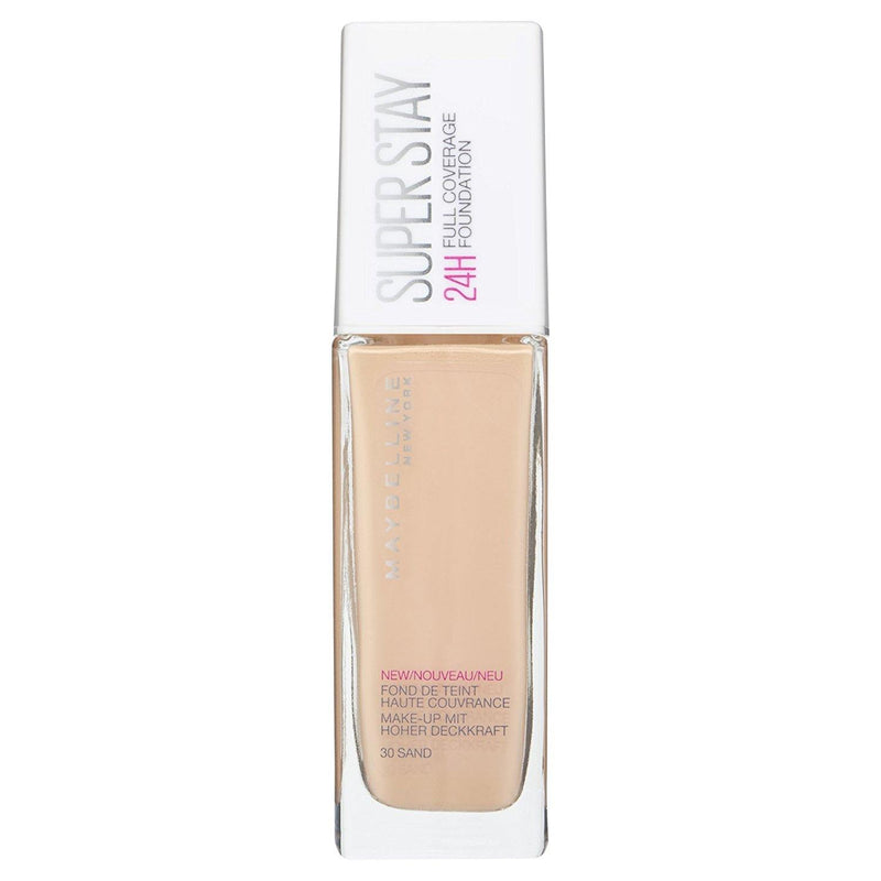 Maybelline Superstay 24H Full Coverage Liquid Foundation - 30 Sand - zapple.pk
