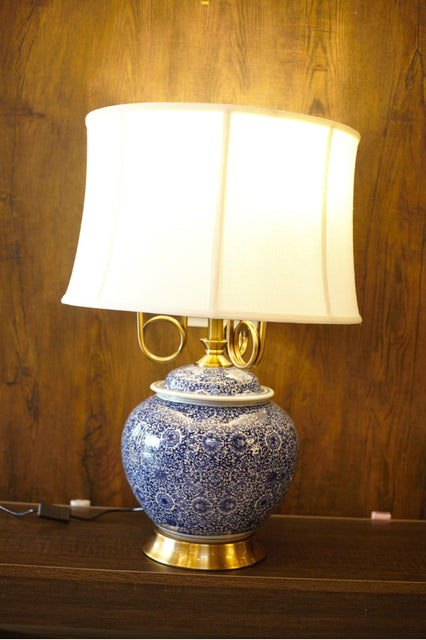 Porcelain Ceramic Table Lamp - TL06 - zapple.pk