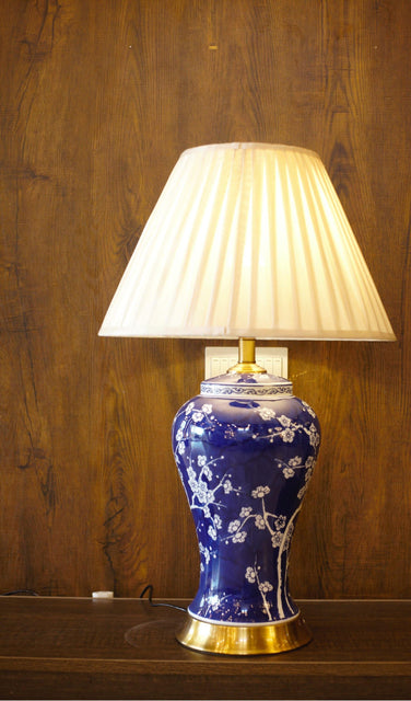 Porcelain Ceramic Table Lamp - TL07 - zapple.pk