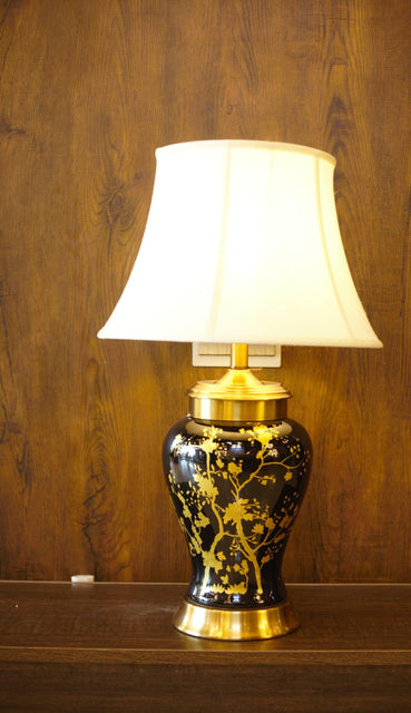 Porcelain Ceramic Table Lamp - TL08 - zapple.pk