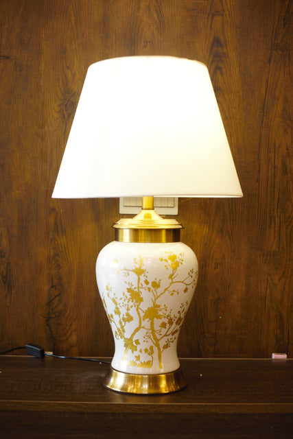 Porcelain Ceramic Table Lamp - TL09 - zapple.pk