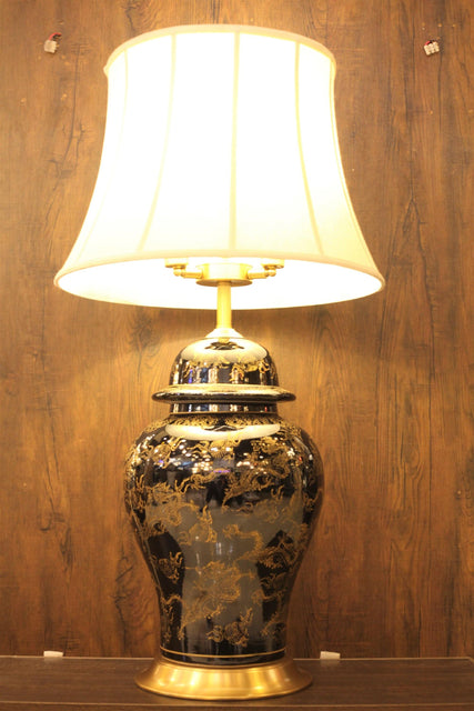 Porcelain Ceramic Table Lamp - TL10 - zapple.pk
