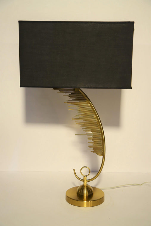 Modern  Bronze Leaf Table Lamp - TL20 - zapple.pk