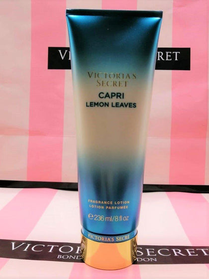Victoria's Secret Capri Lemon Leaves Fragrance Body Lotion - 236ml - zapple.pk