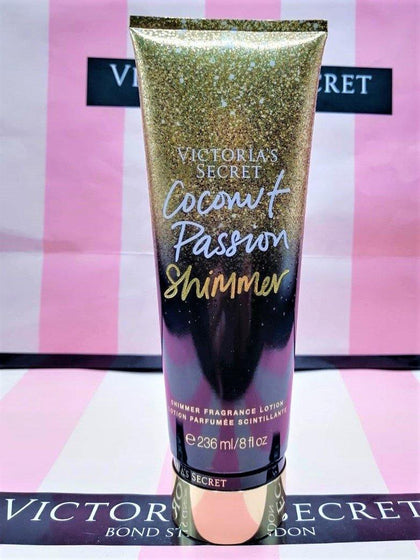 Victoria's Secret Coconut Passion Shimmer Fragrance Body Lotion - 236ml - zapple.pk