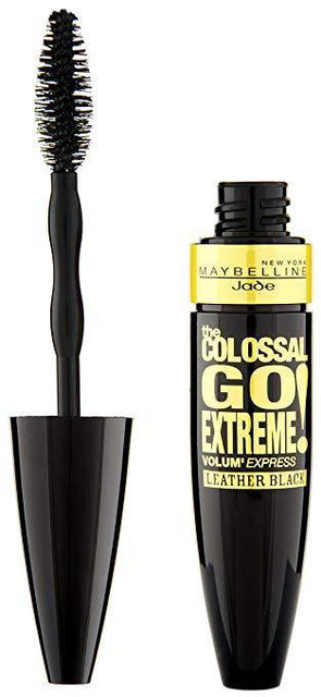 Maybelline Volum' Express Colossal Go Extreme Leather Mascara - Black - zapple.pk
