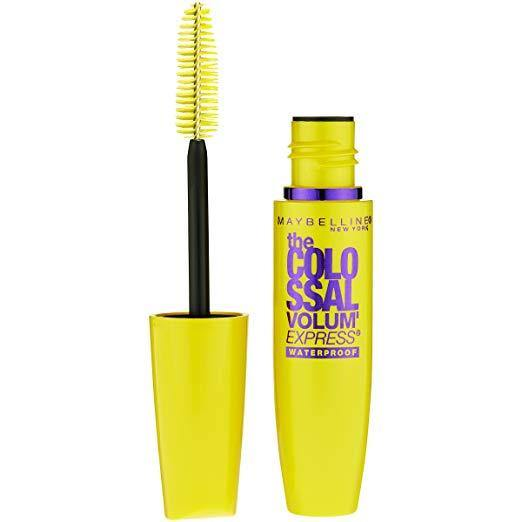 Maybelline Volum' Express Colossal Black Waterproof Mascara - zapple.pk
