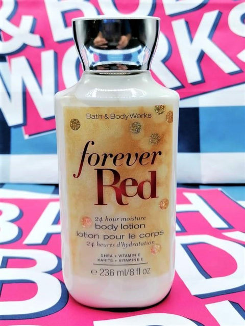 Bath & Body Works Forever Red Body Lotion - 236ml - zapple.pk