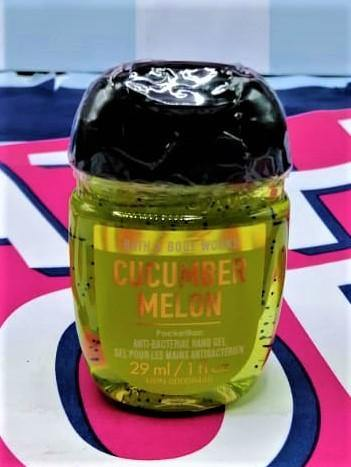 Bath & Body Works Cucumber Melon PocketBac Anti Bacterial Hand Gel Sanitizer - 29ml - zapple.pk