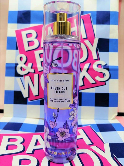 Bath & Body Works Fresh Cut Lilacs Fragrance Mist Perfume - 236ml - zapple.pk