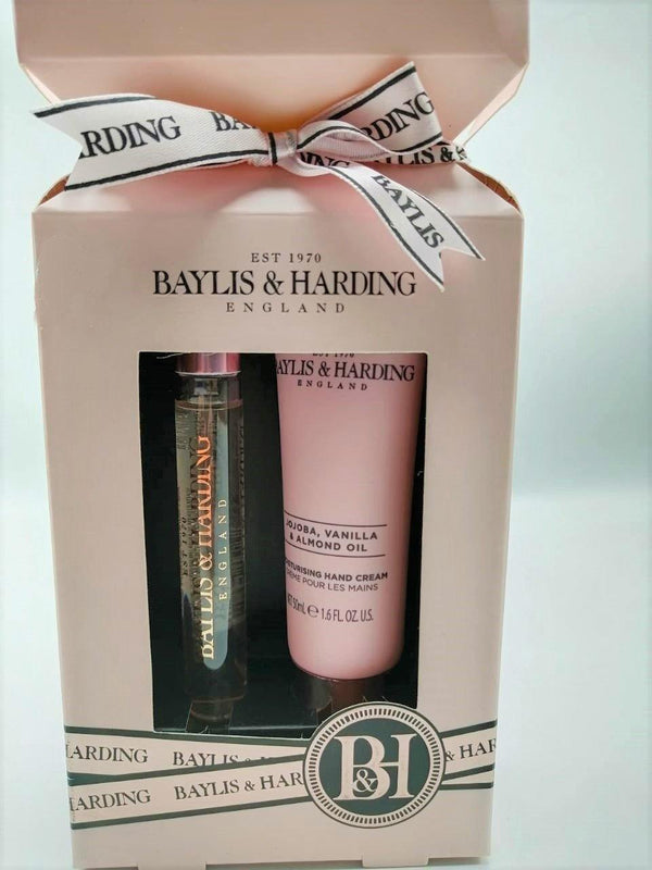 Baylis & Harding Jojoba, Vanilla & Almond Oil 2 Piece Cracker Gift set