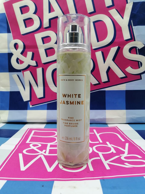 Bath & Body Works White Jasmine Fragrance Mist Perfume - 236ml - zapple.pk