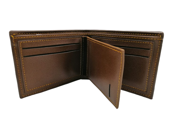 Balisi Brown Leather Wallet For Men - zapple.pk
