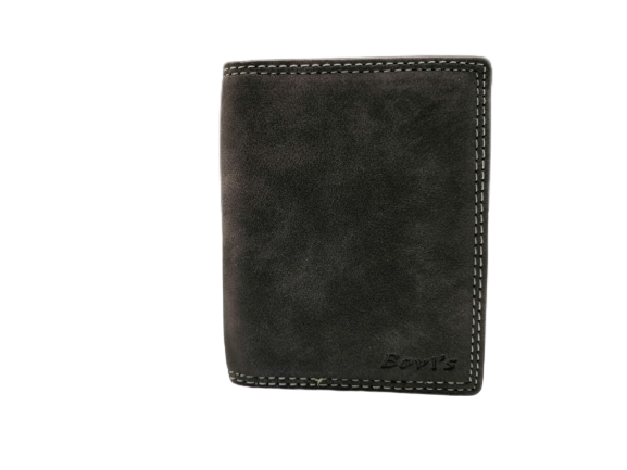 Bovis Design Leather Wallet For Men - zapple.pk