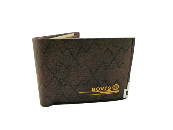 Bovis Design Leather Wallet For Men