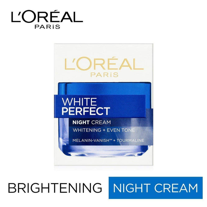 L'ORÉAL Paris White Perfect Night Cream 50ml - zapple.pk