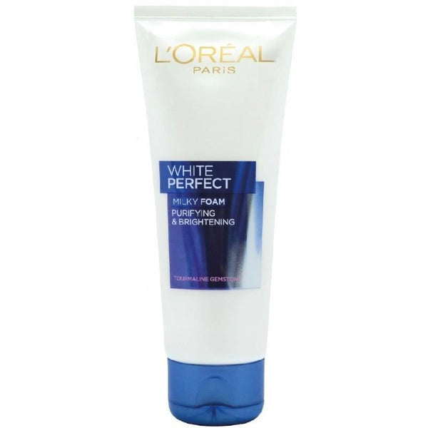 L'ORÉAL Paris White Perfect Milky Foam Facewash 100ml - zapple.pk