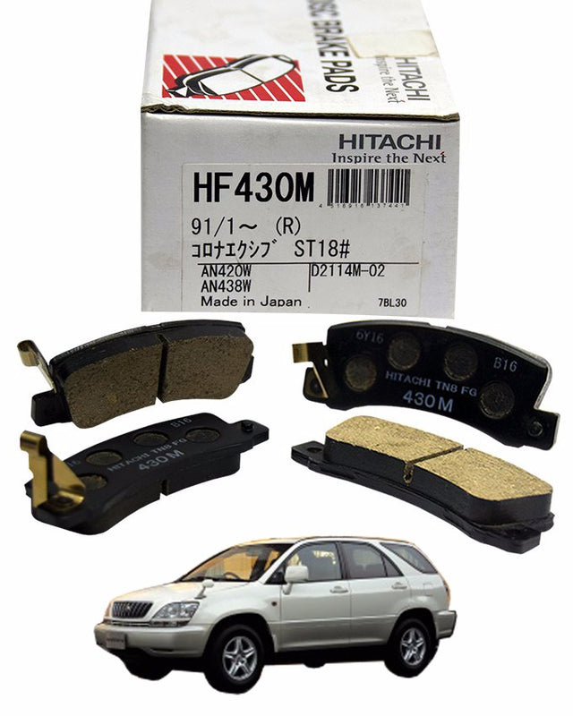 Toyota Harrier MCU10 3000CC 1997 to 2003 - Disc Brake Pads Rear - zapple.pk