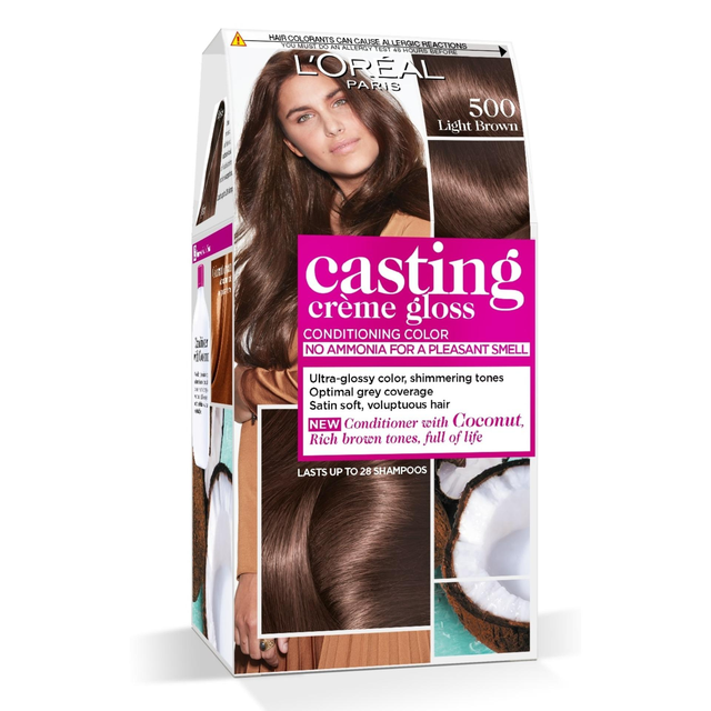 L'ORÉAL Paris Casting Creme Gloss 500 Light Brown - zapple.pk
