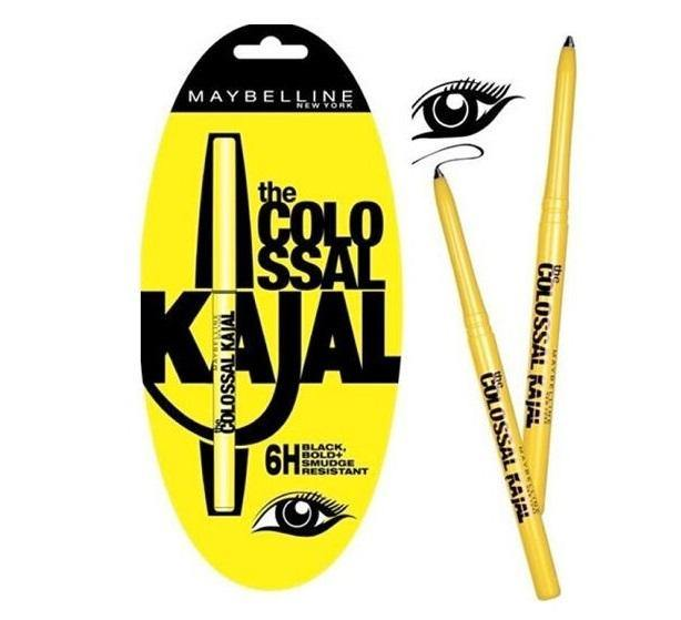 Maybelline The Colossal Kajal 6H Pencil - Black - zapple.pk