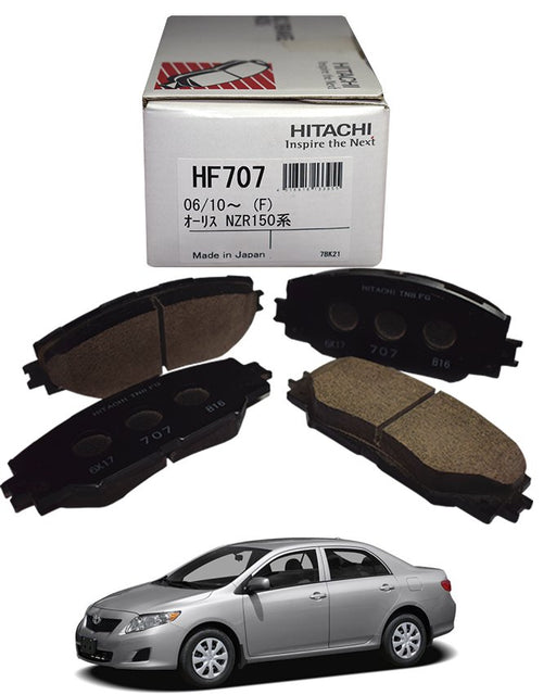 Toyota Corolla 2009 to 2014 - Disc Brake Pads Front