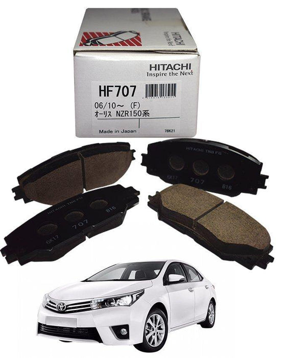 Toyota Corolla 2015 To 2020 - Disc Brake Pads Front - zapple.pk