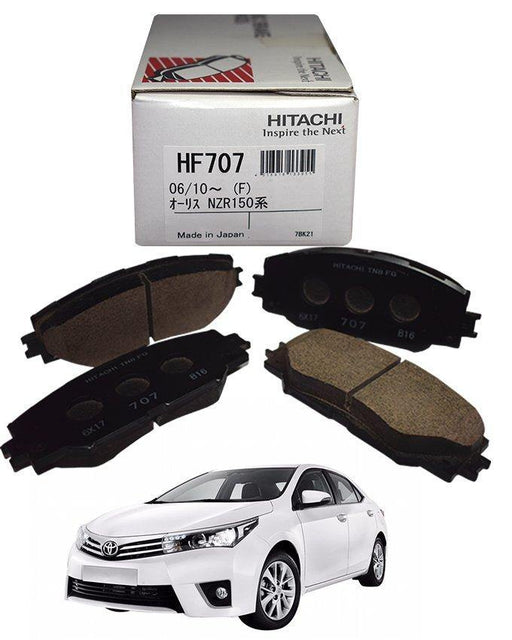 Toyota Corolla 2015 To 2018 - Disc Brake Pads Front