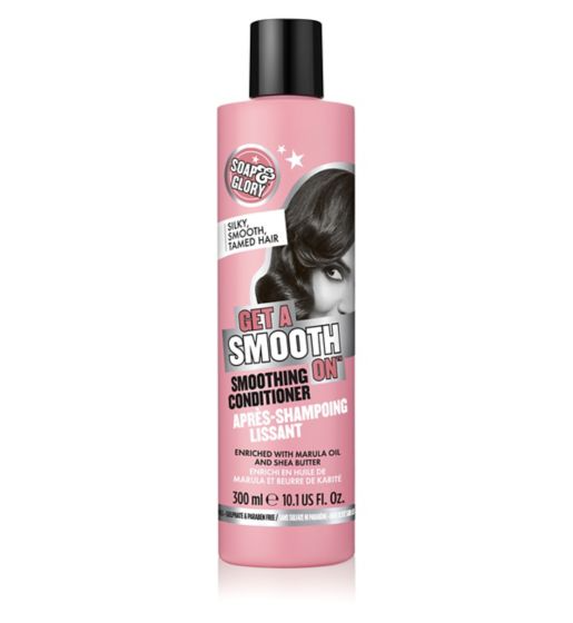 Soap & Glory Get A Smooth ON Smoothing Conditioner For Frizzy/Dull Hair - 300ml - zapple.pk