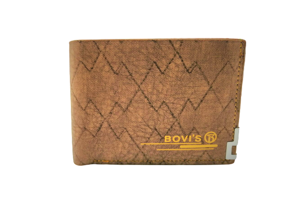 Bovis Style Leather Wallet For Men - zapple.pk