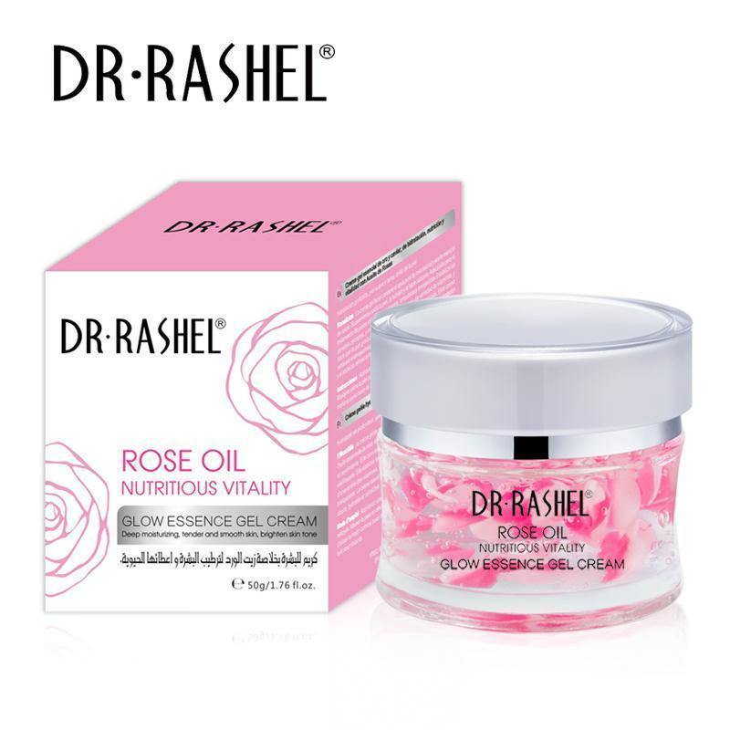 Dr.Rashel Rose Oil Nutritious Vitality Glow Essence Gel Cream - zapple.pk