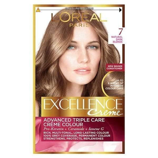 L'ORÉAL Paris Excellence Creme 7 Blonde - zapple.pk