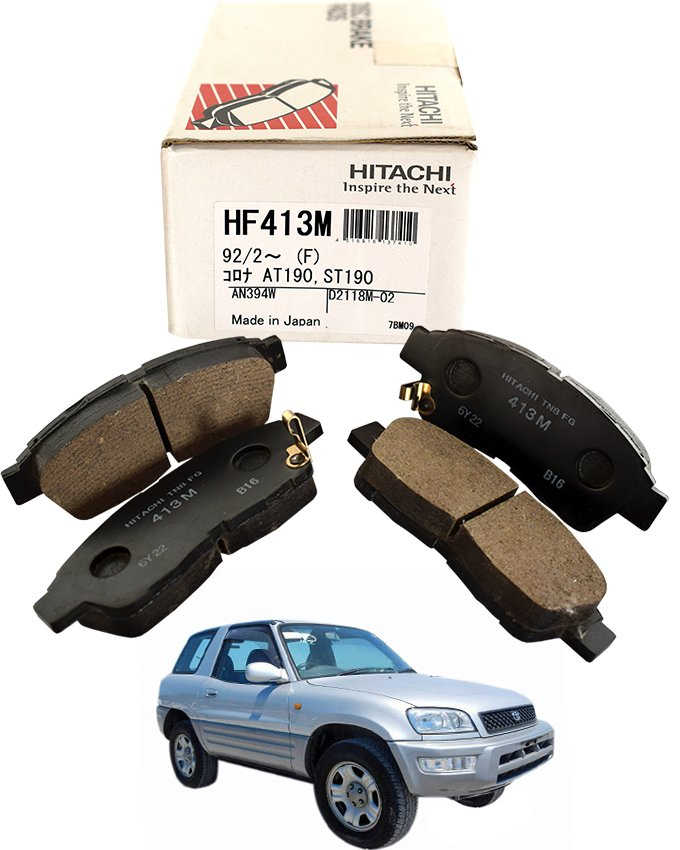 Toyota Rav4 SXA15 1998 to 2002 - Disc Brake Pads Front