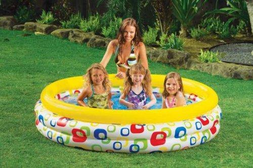 INTEX-3-Ring Baby Pool-Sunset Glow - zapple.pk