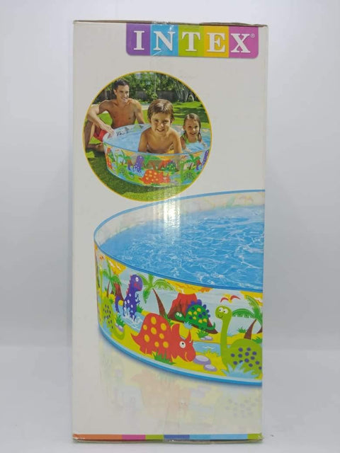 "INTEX Kids Ocean Play Snapset Pool (1.22m x 25cm ),( 4' x 10 "") - zapple.pk"