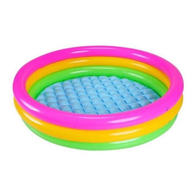 INTEX-3-Ring Baby Pool Small - zapple.pk