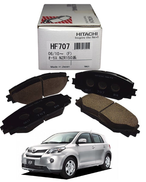 Toyota I.s.t 2008 to 2014 - Disc Brake Pads Front - zapple.pk